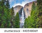 Yosemite Falls.  Yosemite...
