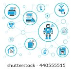 internet of things  iot and... | Shutterstock .eps vector #440555515