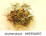abstract flower background in... | Shutterstock . vector #440556007
