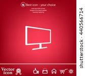 vector monitor icon | Shutterstock .eps vector #440566714