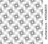 seamless pattern. monochrome.... | Shutterstock .eps vector #440568055