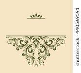 ornamental pattern for... | Shutterstock .eps vector #440569591