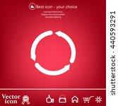 circular arrows vector icon | Shutterstock .eps vector #440593291