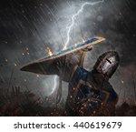 Lightning Strikes A Knight On...