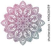 Colorful Grunge Flower Mandala...