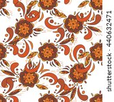 seamless pattern in traditional ... | Shutterstock .eps vector #440632471