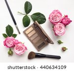 decorative flat lay composition ... | Shutterstock . vector #440634109