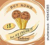 vector illustration of ice... | Shutterstock .eps vector #440643385