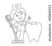 coloring page outline of... | Shutterstock .eps vector #440646511
