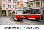 prague  czech republic  ... | Shutterstock . vector #440653591