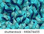 seamless fantasy pattern of... | Shutterstock .eps vector #440676655