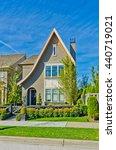 big custom made luxury house...   Shutterstock . vector #440719021