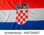 flag of croatia | Shutterstock . vector #440726047