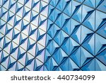 geometrical play of patterns...   Shutterstock . vector #440734099