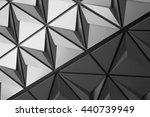 black and white presentation of ...   Shutterstock . vector #440739949