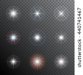 shining stars or other bright... | Shutterstock .eps vector #440741467
