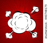 comic speech bubble  cartoon | Shutterstock .eps vector #440748175