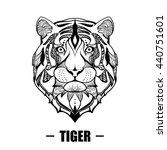design for your t shirt pattern ... | Shutterstock .eps vector #440751601