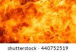 blaze fire flame texture... | Shutterstock . vector #440752519