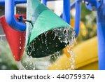 splash pad or sprayground in... | Shutterstock . vector #440759374