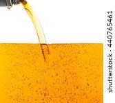 pouring motor oil on white... | Shutterstock . vector #440765461