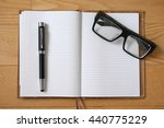 classical working stuffs on a... | Shutterstock . vector #440775229
