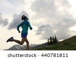 healthy lifestyle young fitness ... | Shutterstock . vector #440781811