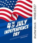fourth of july independence day | Shutterstock .eps vector #440813527