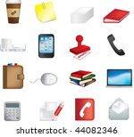 vector illustration of business ... | Shutterstock .eps vector #44082346