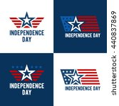 independence day vector design. ... | Shutterstock .eps vector #440837869