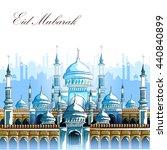 vector illustration of eid... | Shutterstock .eps vector #440840899