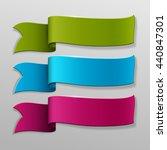 vector banners set. | Shutterstock .eps vector #440847301