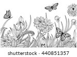 Vector Floral Background  Page...