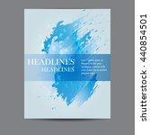 design template business... | Shutterstock .eps vector #440854501