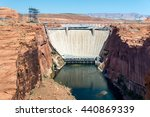 Glen Canyon Dam Near Page ...