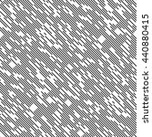 seamless diagonal chaotic line... | Shutterstock .eps vector #440880415