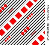 seamless diagonal stripe ... | Shutterstock .eps vector #440880439
