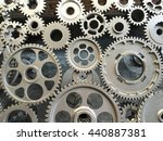 abstract background of the... | Shutterstock . vector #440887381