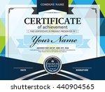 blue geometric pattern... | Shutterstock .eps vector #440904565