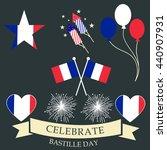 vector illustration of french... | Shutterstock .eps vector #440907931