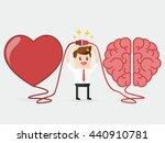 Businessman Connecting Brain...