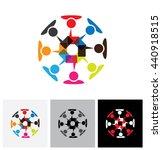 concept vector logo icon  ... | Shutterstock .eps vector #440918515