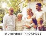 family  happiness  generation ... | Shutterstock . vector #440924311