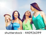 summer holidays and vacation  ... | Shutterstock . vector #440926399