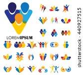 vector logo icon designs of... | Shutterstock .eps vector #440927515