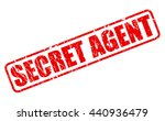 secret agent red stamp text on... | Shutterstock .eps vector #440936479
