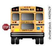 school  bus | Shutterstock .eps vector #4409629