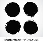 set of grunge circles.grunge...   Shutterstock .eps vector #440965051
