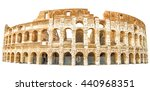 the coliseum   colosseum ...   Shutterstock . vector #440968351