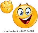 emoji making power to the... | Shutterstock .eps vector #440974204